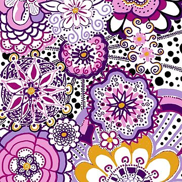Purple and Pink Mandala by CTWuellner