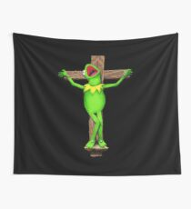 It's Not Easy Being Crucified Wall Tapestry
