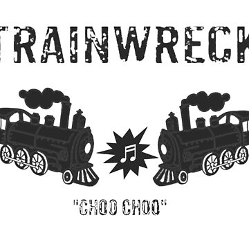 Train wreck  by DNASurfboards
