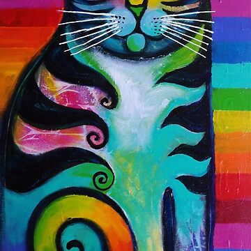 Rainbow kitty 2 by karincharlotte