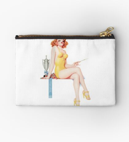 Tasty Pinups™ Vintage Red Head Smoking Hot Studio Pouch