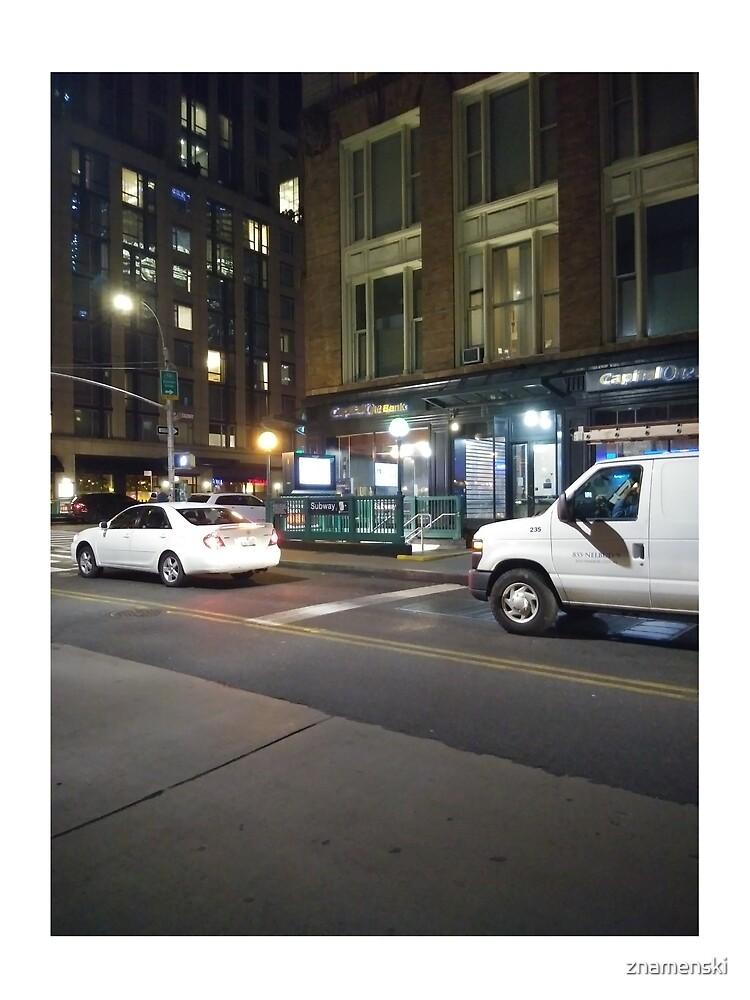Van, #Van, Manhattan, #Manhattan, New York, #NewYork, NYC, #NYC, New York City, #NewYorkCity by znamenski