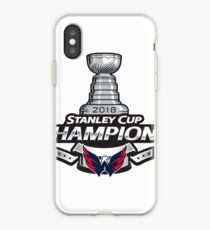 Washington Capitals Stanley Cup Champions  iPhone Case