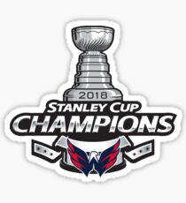 Washington Capitals Stanley Cup Champions  Sticker