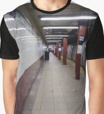 Metro station, #MetroStation, Manhattan, #Manhattan, New York, #NewYork, NYC, #NYC, New York City, #NewYorkCity Graphic T-Shirt