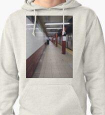 Metro station, #MetroStation, Manhattan, #Manhattan, New York, #NewYork, NYC, #NYC, New York City, #NewYorkCity Pullover Hoodie