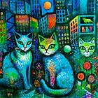 Cat tale  by Karin Zeller