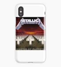 Metallica (Master Of Puppets) iPhone Case