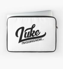 I'm Going Now Laptop Sleeve