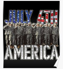 July 4th Independence Day Poster