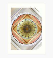 QVB Dome Art Print