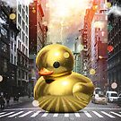 The Golden Rubber Duck by Vin  Zzep
