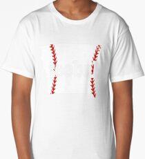 Iowa Teeball Training Shirt Mom Teeball Coach Long T-Shirt