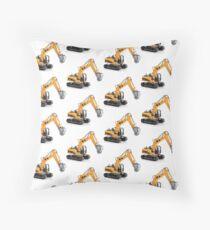 Excavator Floor Pillow