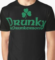 Drunky Mcdrunkerson Graphic T-Shirt