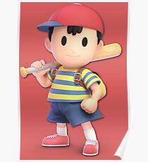 Super Smash Bros. Ultimate Ness Poster