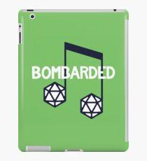 bomBARDed Logo w/Background iPad Case/Skin