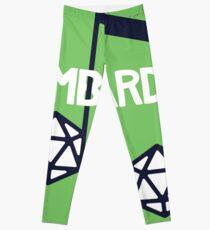 bomBARDed Logo w/Background Leggings