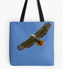 Hunting Red Tailed Hawk Tote Bag
