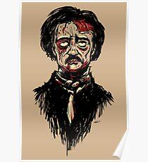 Edgar Allan Poe Zombie Poster