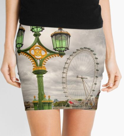 The Eye is the Lamp of the Body Mini Skirt