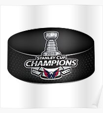 2018 Stanley Cup Champions - Washington Capitals Poster