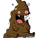 Poop Monster by striffle