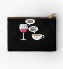She Loves Me More Wine Coffee Studio Pouch