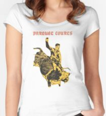 Parquet Courts Light Up Gold Womens Fitted Scoop T Shirt