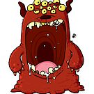 Bad Breath Monster by striffle