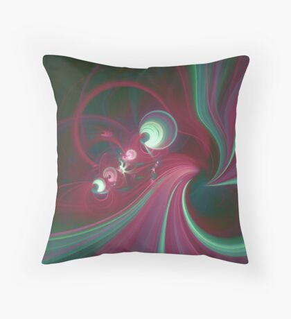 On the road again ... Throw Pillow