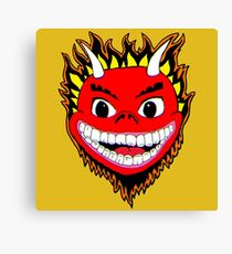 Red Devil Canvas Print