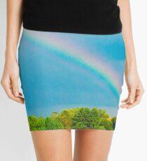 The Colors of the Rainbow Mini Skirt