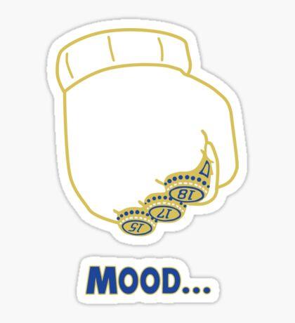 Draymond Green [Warriors Championship Mood Edition] Glossy Sticker