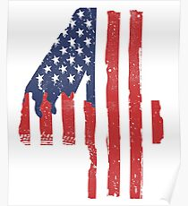 4th Of July Shirt for Women, Men and Kids Poster