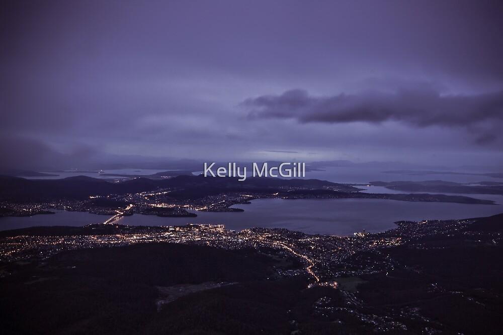 Mt Wellington Sunrise by Kelly McGill