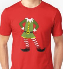 Elf Costume for Carnaval Christmas Halloween Party Slim Fit T-Shirt