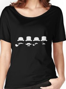 Moneyrunner - Heads White Women's Relaxed Fit T-Shirt