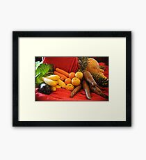Vegetables! Framed Print