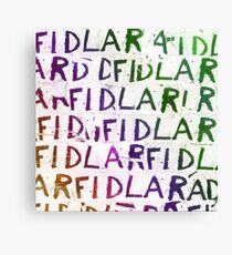 Fidlar T Shirts Canvas Print