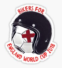 BIKERS FOR ENGLAND WORLD CUP 2018 Sticker