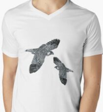 Two Birds Men's V-Neck T-Shirt