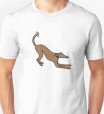 Lurcher play bow Unisex T-Shirt