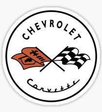 Chevrolet Corvette C1 Logo Sticker