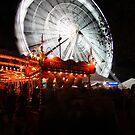 Lincoln Christmas Market Fun Fair by Jonathan Cox