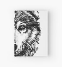 Timber Wolf  Hardcover Journal