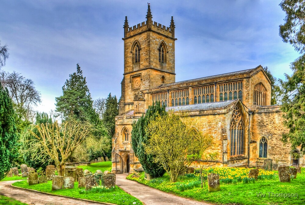 St Mary's in Spring by Viv Thompson