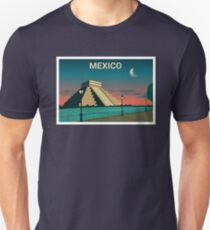 Mexico Postcard Unisex T-Shirt