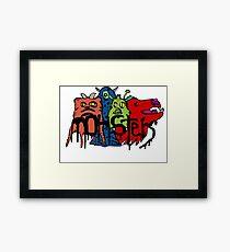 Monsters Framed Print