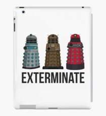 Daleks Through the Years iPad Case/Skin
